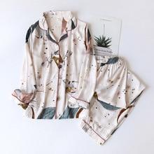 Pijamas de manga larga para mujer, traje de Pijama largo de estilo simple, servicio a domicilio, 2021 viscosa, novedad de Primavera/Verano 100%