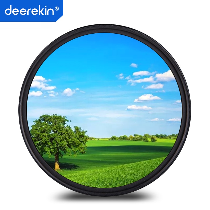 Deerekin 40,5mm Polarizador Circular polarizante CPL filtro para Sony 16-50mm Len A6500 A6400 A6300 A6000 A5100 A5000 NEX-6/3N/5 T/5R