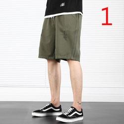 Verão calções casuais calças de cinco calças masculinas macacão calças de praia