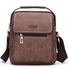Brand Man Handbag Classic Brown Crossbody Leather Bag Hot Sale Men Messenger Shoulder Bags New Sac Luxe Clutch Bolsa Feminina