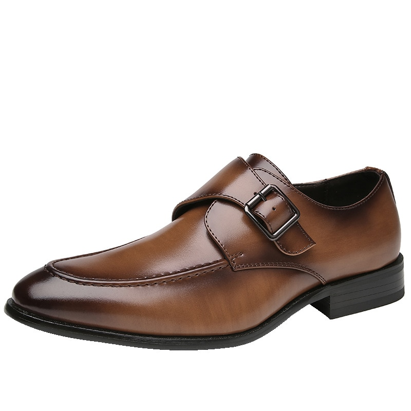 osco 2018 spring summer men shoes youth business british black casual genuine leather breathable dress office shoes men oxford Fashion Breathable Black Wedding Shoes Men Dress Shoes 2021 Summer Fall Business Leather Shoes Elegant Office Shoes for Man