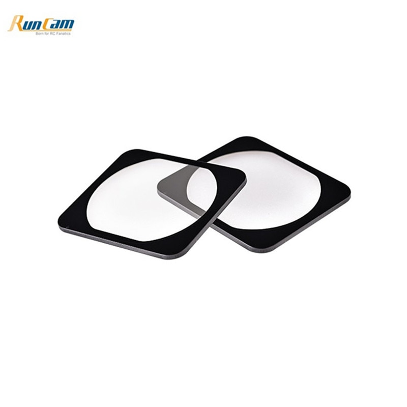 1 Pair Runcam Tempered Glass Protector for RunCam 5 FPV Camera RC Drone Quadcopter Multirotor Multicopter RC Parts Accessories