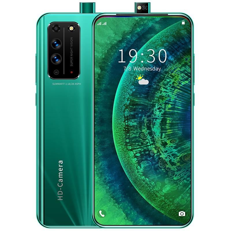 X10 Smartphone 8 + 256 GB 6,6 Zoll Android Vollbild Snapdragon 855 Gesicht ID Dual Kamera Smart Mobile Handy hörer celular