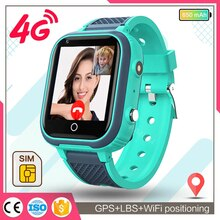 Smart Watch Kids GPS 4G Wifi Tracker Waterproof Smartwatch Kids Video Call Phone Watch Call Back Mon