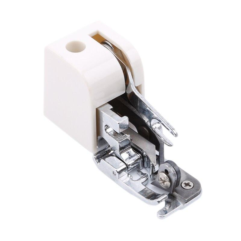 Alta qualidade pé overlock presser lado cortador presser pés para máquinas de costura acessório para todos os baixa haste cantor