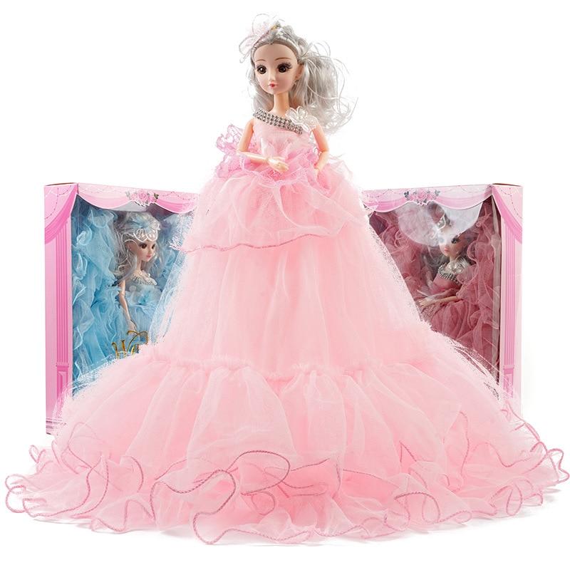 45 cm Doll Creative Wedding Princess Gift Box Set Girl Toys Baby Kids Activity Birthday Gift Wholesale Decoration New S26