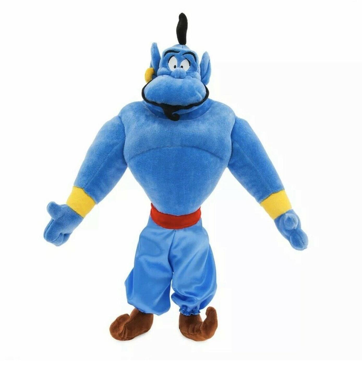 Disney-muñeco de peluche auténtico de Aladdín The Genie, 18