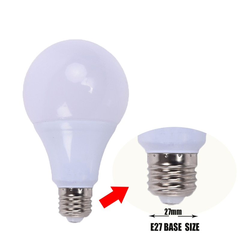 Bombillas Led para lámpara-bombillas LED de tornillo grande para el hogar, luces para interior, E27, 110V, 220V, 3W, 6W, 9W, 12W, 15W, 18W, 21W, SMD2835