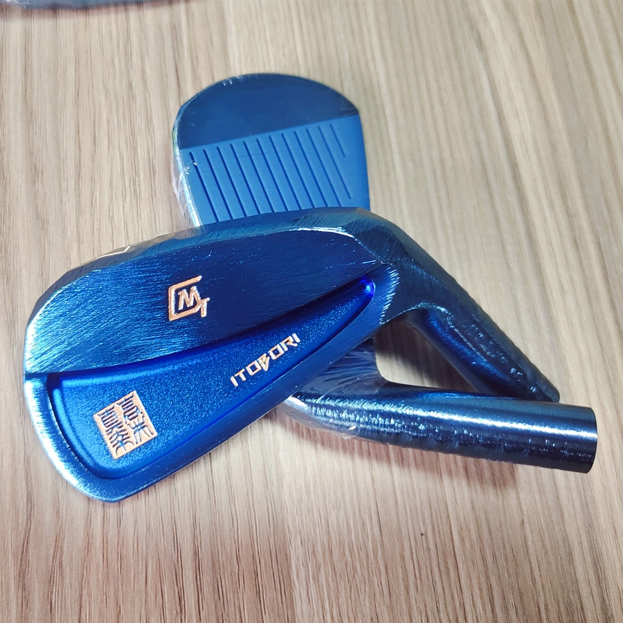 2021 ITOBORI MT Forged Carbon Steel Golf Iron Head Blue Color Golf Club  Driver Wood Wedge Putter