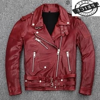 sheepskin coat natural male jacket men clothes 2021 winter autumn 100 real genuine leather mens jackets motorcycle coat