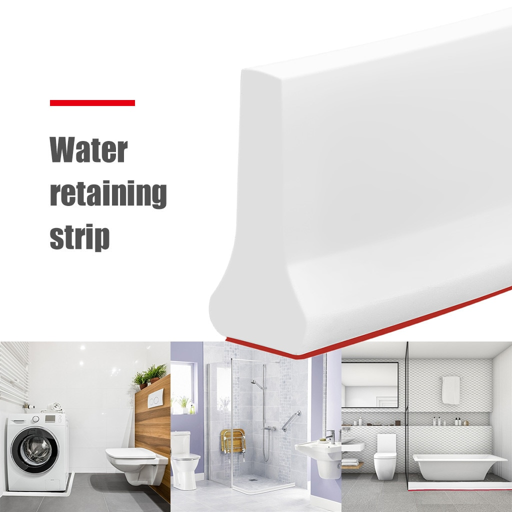 2m, tapón de agua para baño, barrera de inundación, presa de goma, bloqueador de agua de silicona, barrera de agua, tiras de partición de suelo, Dropshiping #10