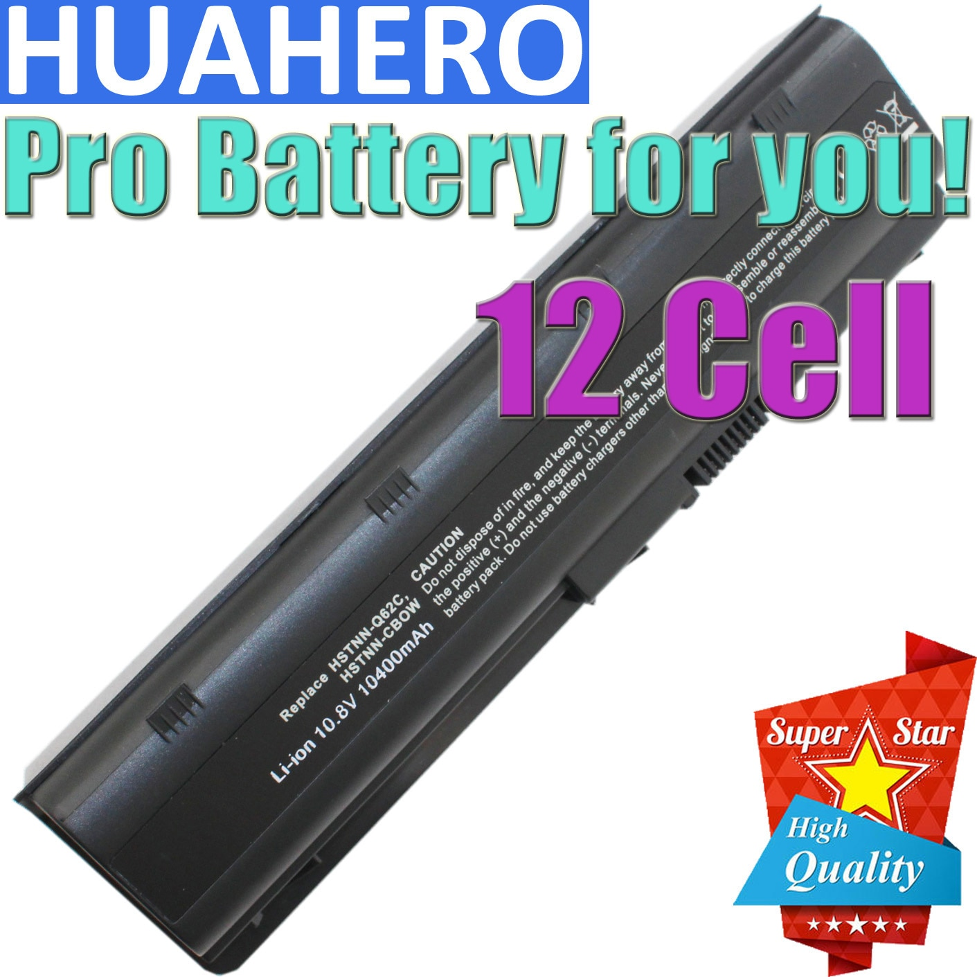HUAHERO 12cells mu06 Laptop battery for HP Notebook PC 593553-001 Pavilion g4 G6 G7 G32 cq42 593562-001 dm4 dv6 MU09 HSTNN-LB0W znovay mu06 laptop battery for hp pavilion g4 g6 g7 cq42 cq32 g42 cq43 cq62 g32 dv6 dm4 g72 593562 001battery mu09 10 8v 47wh