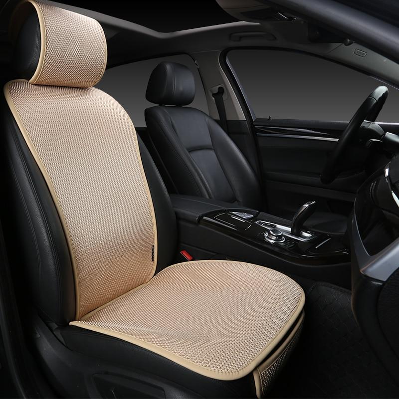 Подушка для автомобильного сиденья, защитные аксессуары для сиденья, коврик для одиночного переднего сиденья, автомобильные чехлы на сиден...