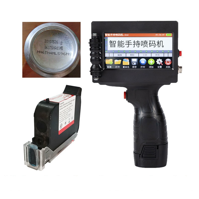 Ручной маленький автоматический струйный принтер MX3S, машина для кодирования даты и номера партий