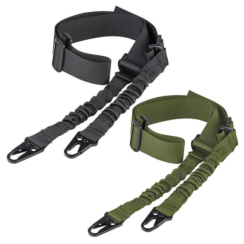 Тактический 2-точечный ремень для ружья, наплечный ремень для наружной винтовки с металлической пряжкой QD, аксессуары для охотничьего ружья...