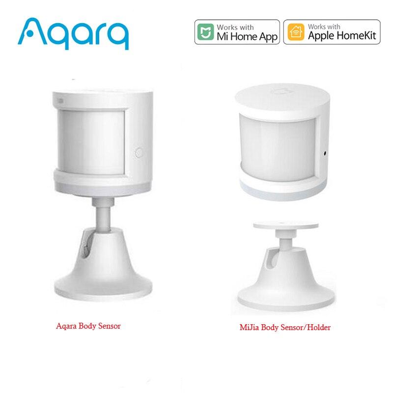 Aqara-مستشعر الحركة الذكي ، مستشعر Zigbee مع اتصال لتطبيق Mi home و homekit و Mijia