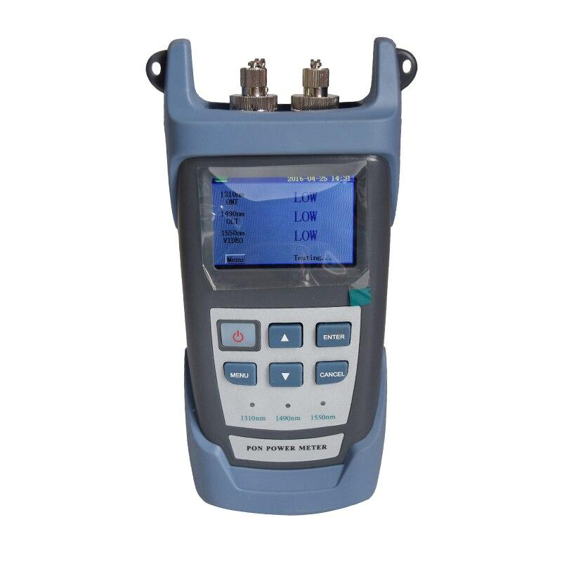 RY3201 النسخة الإنجليزية PON مقياس الطاقة البصرية ل EPON GPON xPON ONT/OLT 1310/1490/1550nm
