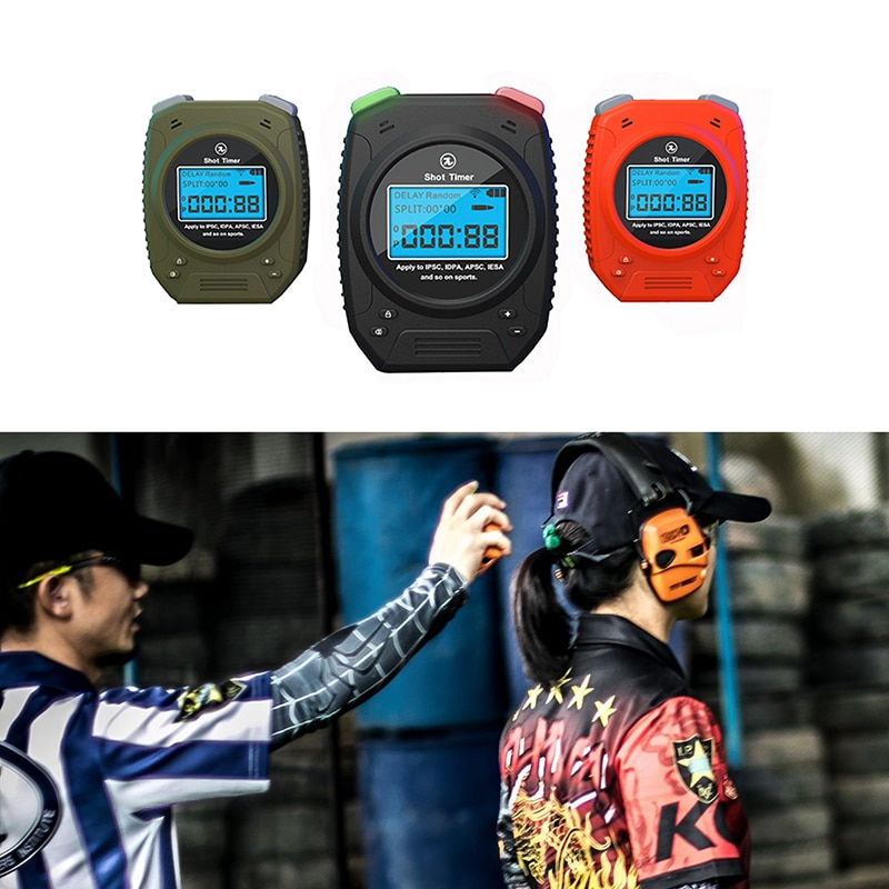 Special Pie Wireless Shot Timer for Firearm Airsoft IPSC/IDPA Training Timer Chronograph for Shooting