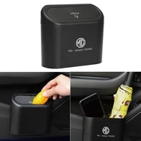 1pcs car trash can press hanging storage box for dio civic 8 10 2008 4d accord 2003 2007 8 fit crv 3 freed hrv car accessories