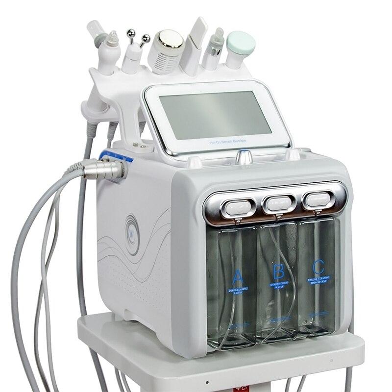 هيدرودرمابراسيون اللوازم الطبية هيدرو سيلت Temizleme Makinas هيدرا قشر سبا الوجه جلدي المعدات مع الأكسجين