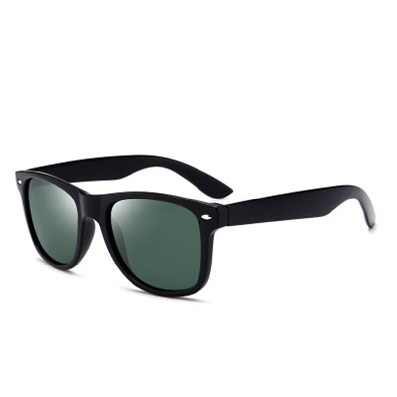 Rivet Night Vision Driving Fishing Cycling Square Polarized Sunglasses Sports