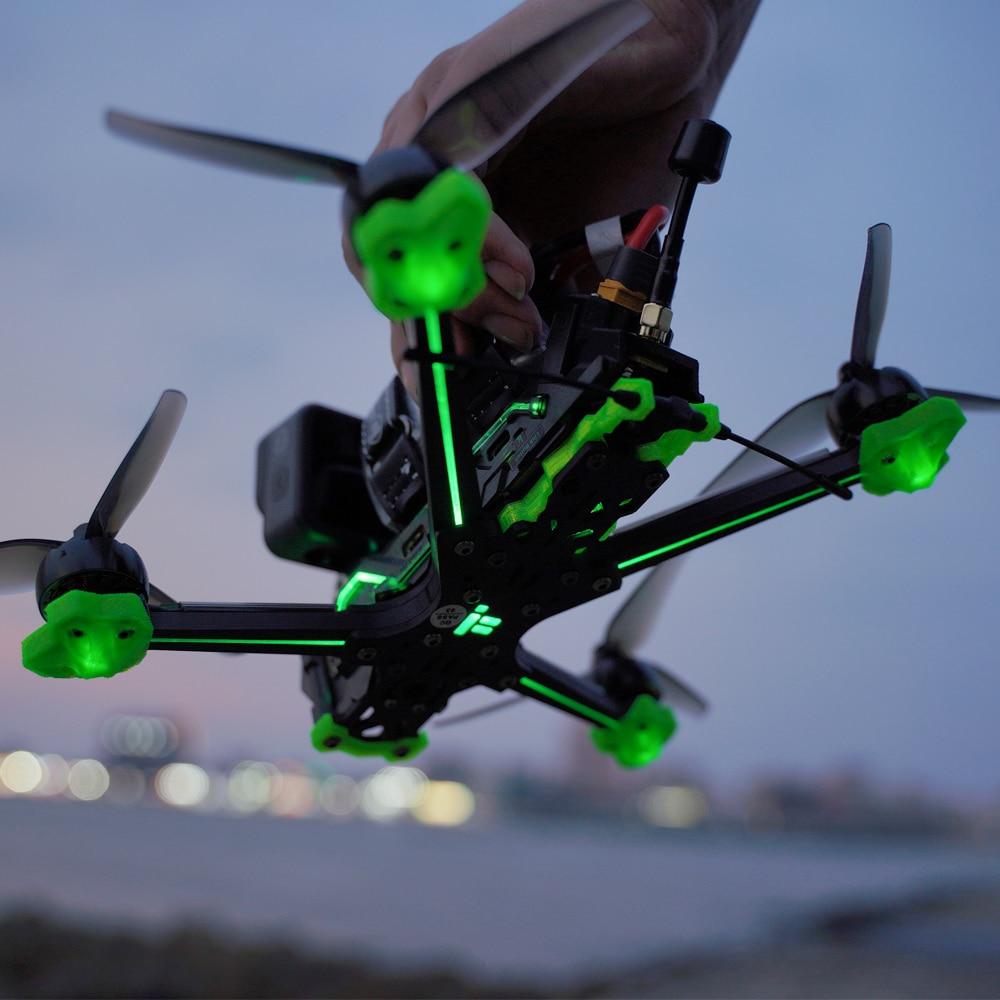 IFlight Nazgul إيفوك F5 HD SucceX-D البسيطة F7 البسيطة 55A Caddx القطبية فيستا XING2 2207 4S 6S ممرود-X DeadCat FPV سباق Drone