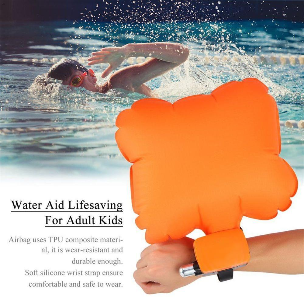 Portable Anti-Drowning Bracelet Rescue Device Floating Wristband Wearable Swimming Safe emergency Water Sports Aid Lifesaving