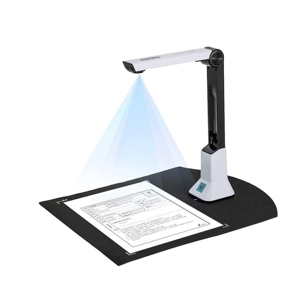 KC5M01 المحمولة الرئيسية مكتب عالية السرعة وثيقة عالية الوضوح الماسح الضوئي في الوقت الحقيقي الإسقاط تسجيل الفيديو الماسح الضوئي
