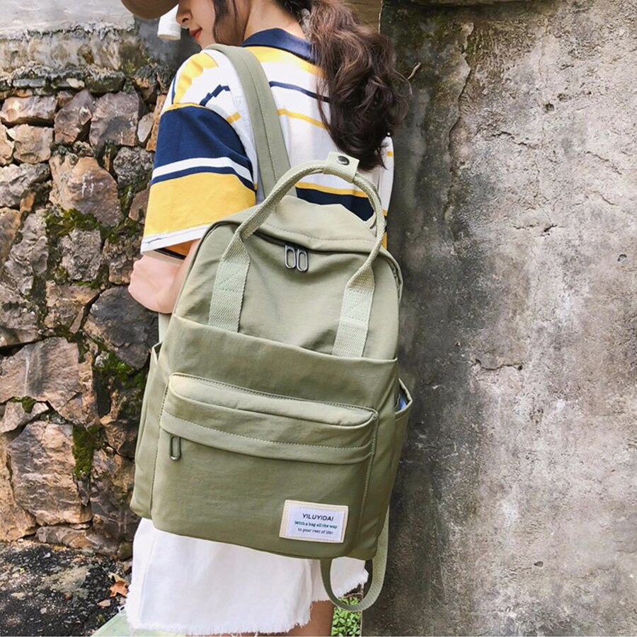 dropship harajuku anime sword art online sao canvas galaxy luminous printing backpack school bags for teenagers mochila feminina Fashion Backpack Women School Bag for Teenagers College Nylon Student Waterproof Nylon Backpack Laptop Bags Mochila Feminina