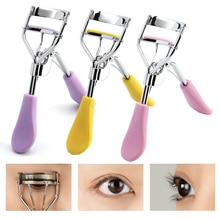 4 Colors Makeup Eyelash Curler Beauty Tools Lady Women Lash Nature Curl Style Cute Eyelash Handle Cu