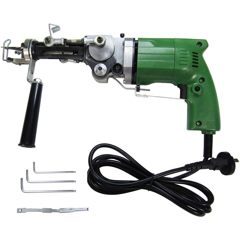2 in1 Electric Manual Cut/Loop Pile 2 Mode Carpet Weaving Flocking Adjustable Rug Carpet Tufting Gun Machine 2400RPM enlarge