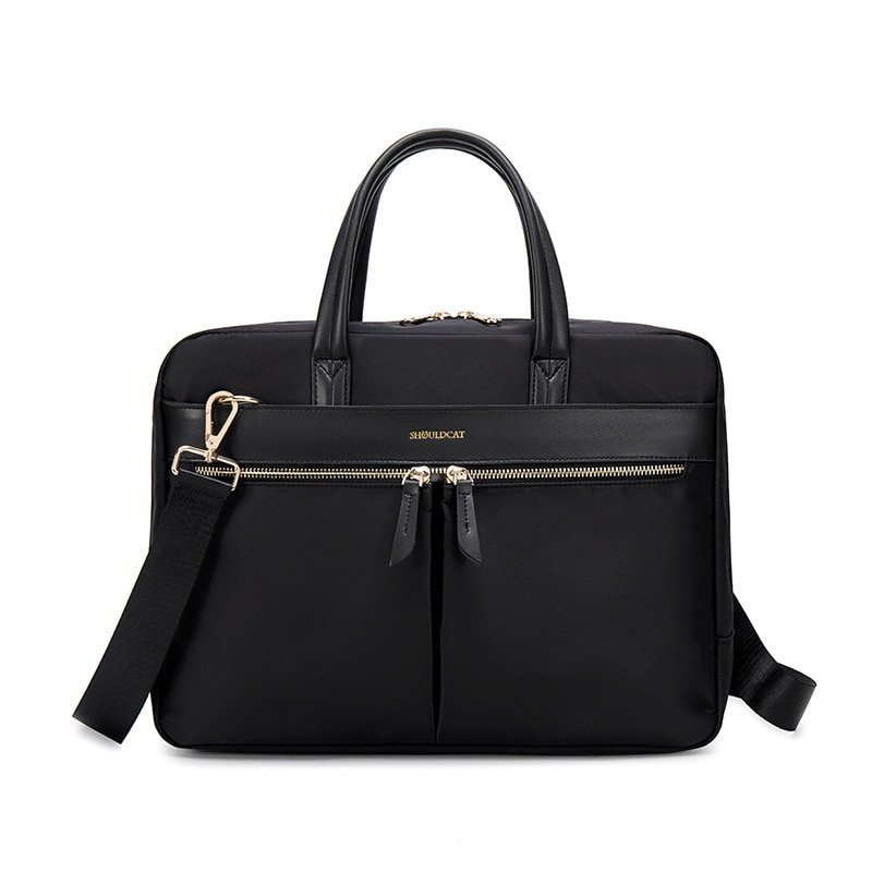 Women Laptop Briefcase Computer Bag Business Document Organizer Ipad Tote Ladies Handbag Messenger Purse Strap Pouch Accessories