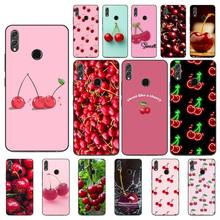 YNDFCNB Fruit Cherry Phone Case For Huawei Honor 8X 8A 9 10 20 Lite 30Pro 7C 7A 10i 20i