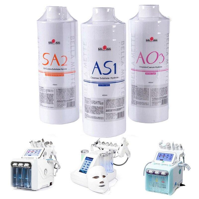 سيروم للوجه من hydrface طراز AS1 SA2 AO3 سيروم للوجه من Hydra سيروم للوجه للبشرة العادية حل تقشير أكوا