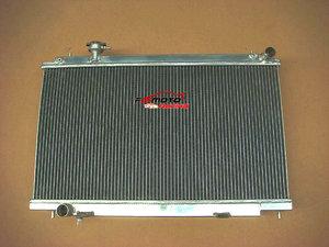 All Aluminum Radiator for Nissan Fairlady 350Z Z33 2003-2006 Manual 05 2005 2006