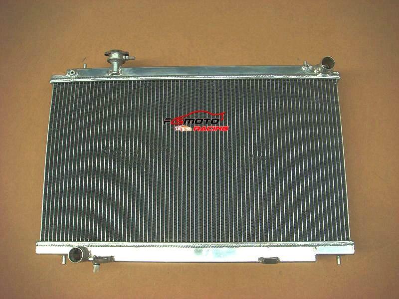 Radiador de alumínio para Nissan Fairlady 350Z Z33 2003-06 04 05 05 Manual 2005 2006