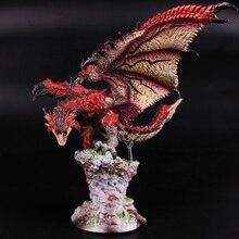 Monster Hunter Hero Fire Dragon Rio Reus Limited Edition Japanse Echt Action Figure Model Kids Toy Gift