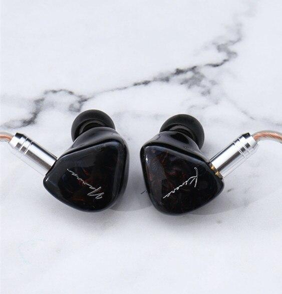 Kinera Nanna 2 electrostática + 1DD + 1BA en el oído Auriculares auriculares HIFI DJ Monitor auricular con 2Pin Cable