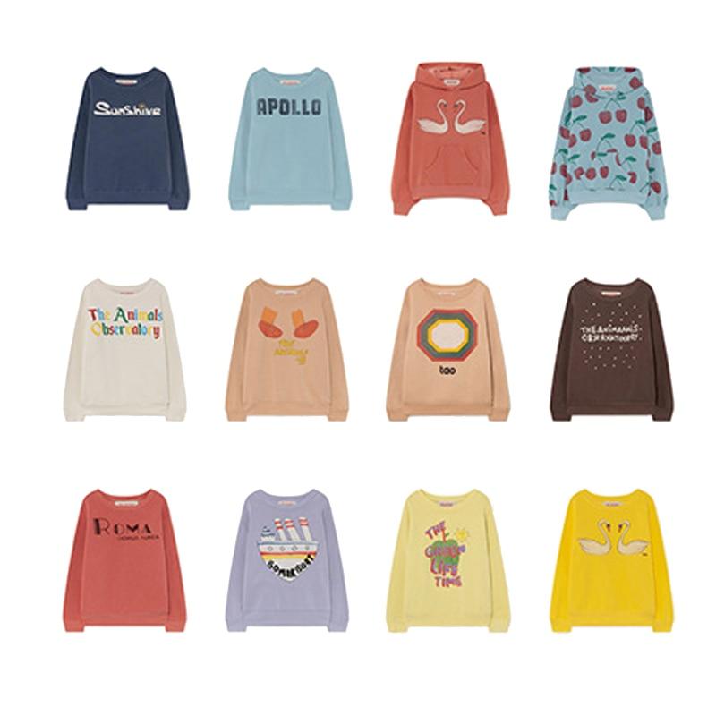 Autumn Winter Plus Velvet Children's Sweater Long-sleeved Print Hoodie Pullover Kid Boy Girl Clothes Winter Children Outwear