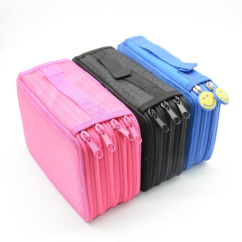 canvas pencil case High capacity estuche escolar Kawaii school supplies estuches box pencilcase trousse scolaire stylo