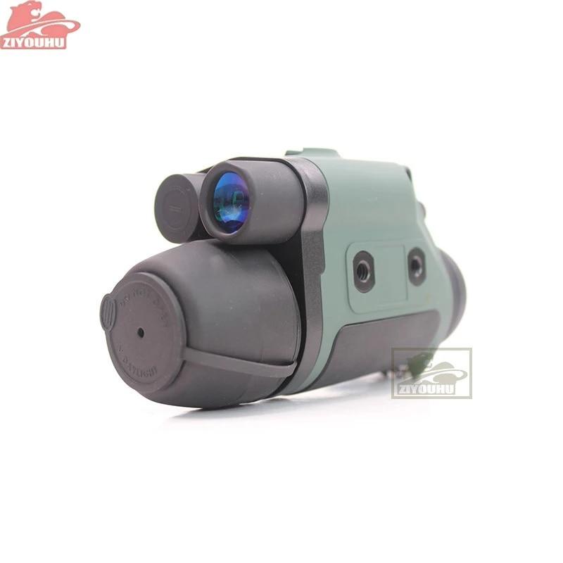 Ziyouhu 3x42 visão noturna caça monocular com visão noturna infravermelha digital visão noturna infravermelha observar caminhadas cor cheia