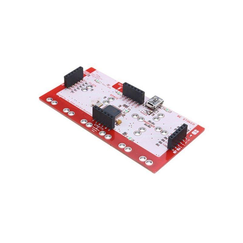 2021 novo 1 conjunto para makey placa de controle principal módulo controlador kit diy com cabo usb clipe