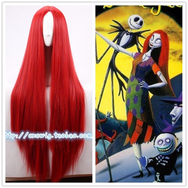 Inhumans 女性メデ赤かつらロングストレート赤髪ナイトメアー · ビフォア · クリスマスサリーかつらヘア衣装