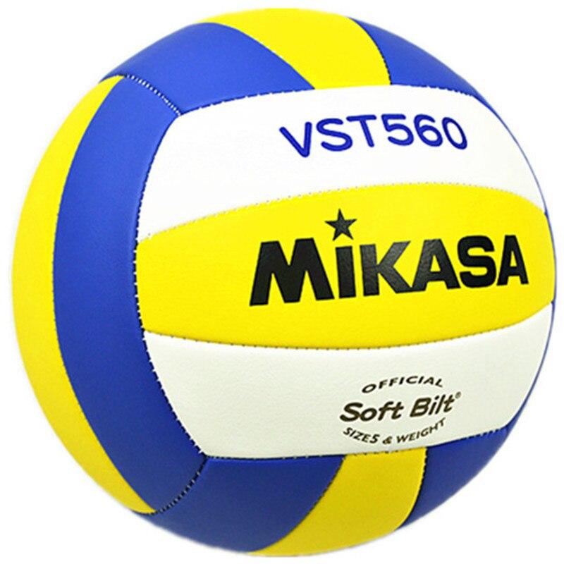 Профессиональная Студенческая Оригинальная Ткань для волейбола MIKASA VST560 PU для волейбола и тренировок, размер 5, для соревнований и волейбола...