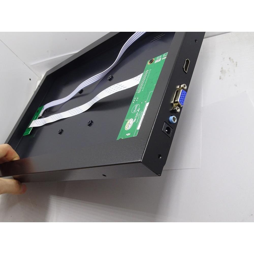 EDP تحكم مجلس + سبيكة معدنية لوحة الغلاف الخلفي حالة مربع VGA HDMI-متوافق كيت ل B156HAN06 1920x1080 شاشة 15.6