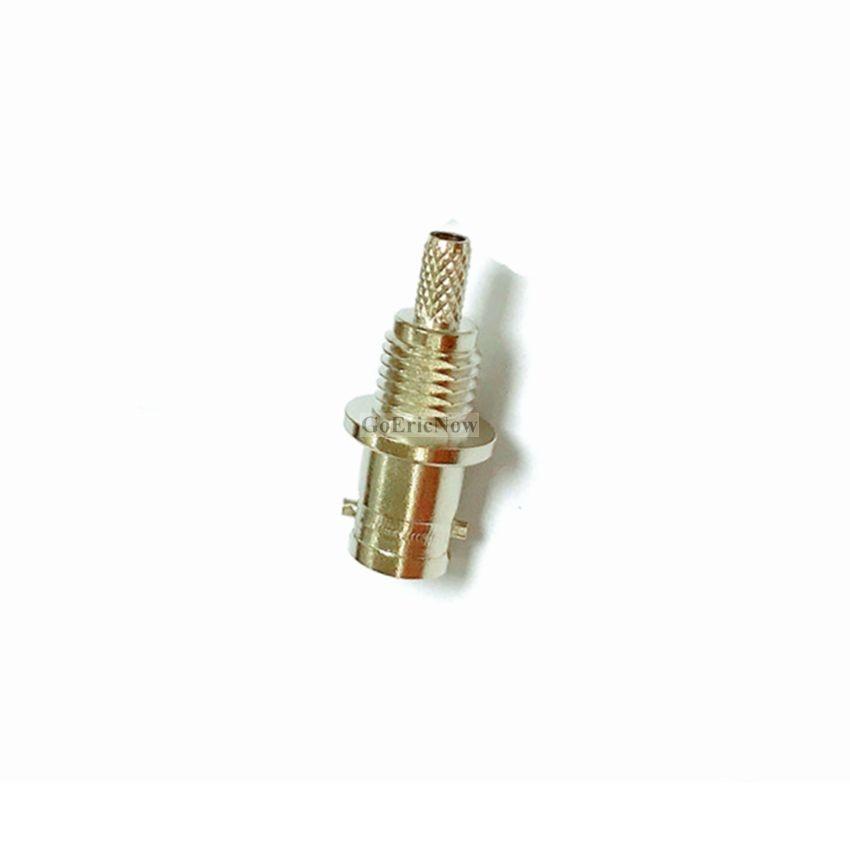 10 pcs Q6 Mini BNC RF Coaxial masculino/Feminino para-1.5 RG316 RG174 Adaptador Do Conector