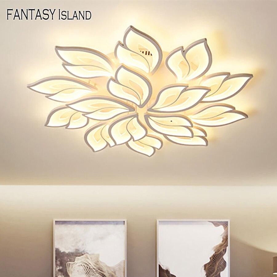 led luz de teto moderno app controle rc funcao superficie mounteacrylic luz para