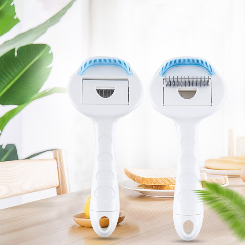 Dogs Hair Removal Comb Cat Detangler Fur Trimming Dematting Deshedding Brush Grooming Tool For matted Long Hair Curly Pet