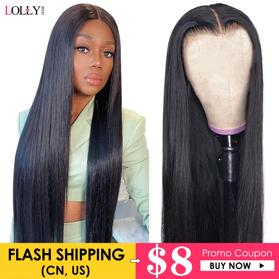 Bone Straight Lace Front Wig Brazilian Human Hair Wigs For Black Women Transparent Frontal Wig 30inch Lace Front Wig Closure Wig