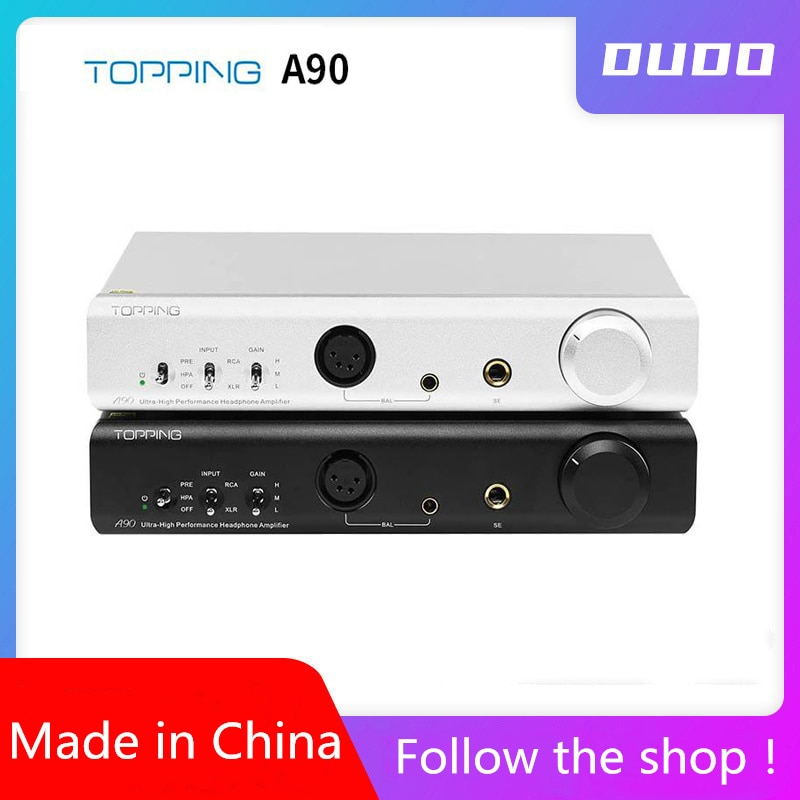 Tamping a90 amplificador de fone de ouvido equilibrado completo xlr pré-amplificador de fone de ouvido amplificador de fone de ouvido bluetooth